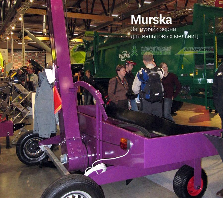 Загрузчик зерна для вальцовых мельниц Murska