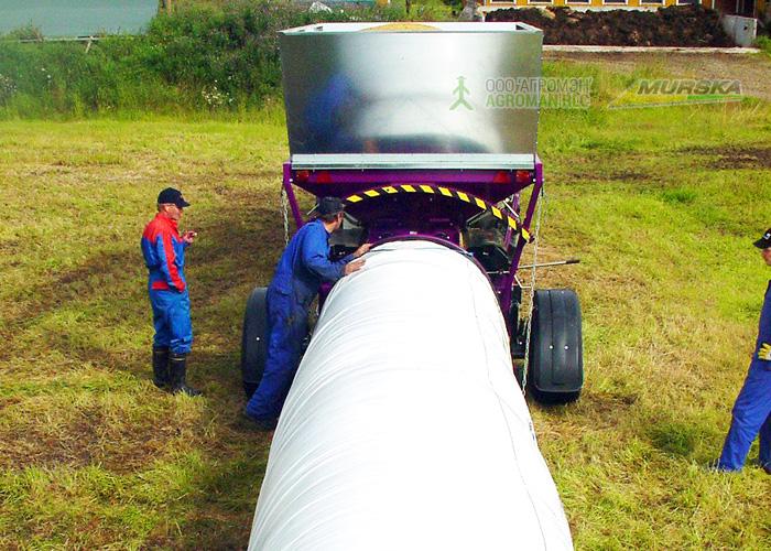 Консервирование плющеного зерна - эффективный метод приготовления высококачественного корма