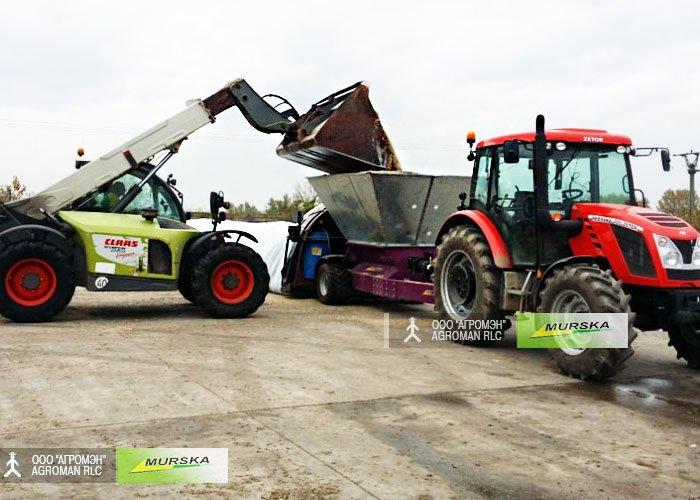 Упаковщик Murska Bagger – идеальное решение для хранения зерновых культур