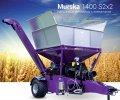 Вальцовая мельница Murska 1400 S2x2 с элеватором для кормопроизводства