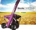 Мельница плющилка Murska 1400 S2x2 с элеватором