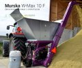 Мельница плющилка Murska W-Max 10 F с элеватором