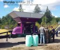 Мельница плющилка Murska W-Max 20 С с транспортером для корма