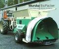 Упаковочный выход упаковщика Murska BioPacker для навоза и помета