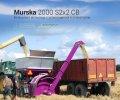 Вальцовая мельница Murska 2000 S2x2 CB с упаковщиком и элеватором